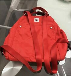 Baggallini Backpack Purse Bag RED nylon. In Excellent Condition. $25.00