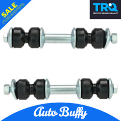 Trq Rear Sway Bar Link Kit Front Pair Set 10164176 Fits Olds Buick Chevy