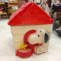 Snoopy Toy Box Vintage Usa Interior American Miscellaneous Goods Thrift
