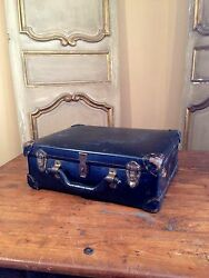 Vtg Telephone Repairman Lineman Case Briefcase Bell South 1940and039s Bag Enjoy