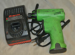 Snap-on Cts561clg 7.2v 1/4 Cordless Screwdriver In Green W/ Battery And Charger