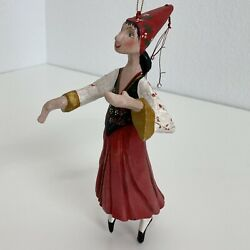 House Of Hatten 1989 Denise Calla 12 Days Of Christmas Ornament Ladies Dancing