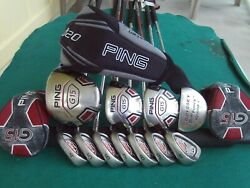 Ping G15 I10 Irons Driver Woods Odyssey Putter Complete Golf Club Set Mens Rh