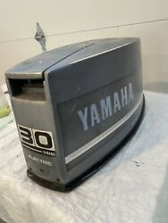 Used Yamaha Outboard Top Cowling For Yamaha Outboard 30hp 2 Stroke 1985