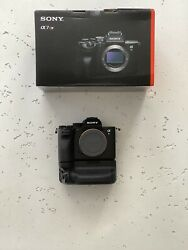Sony A7riv With Sony Battery Grip + 2 Batteries.