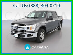 2019 Ford F-150 Lariat Pickup 4d 5 1/2 Ft Xlt Chrome Appearance Pkg Traction Control Bed Liner Power Steering Dual Power