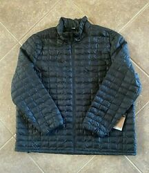 The Thermoball Eco Puffer Jacket Mens Big And Tall 4x Black Nwt 199