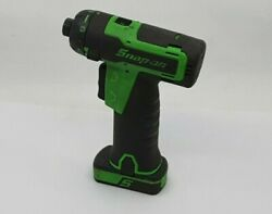 Snap On Cts761g Cordless Screwdriver Body And Battery Only