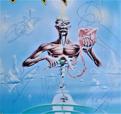 Iron Maiden Fully Signedautogramm Seventh Son Of A Seventh Son Lp Rare