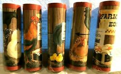 Wall Paper Border 5 ROLLS Rooster Chickens Eggs Country Kitchen Restaurant NEW