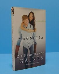 THE MAGNOLIA STORY BY CHIP AND JOANNA GAINES SIGNED BY BOTH FIRST NAMES ONLY