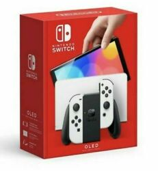 Nintendo Switch Oled Model With White Joy-con - Same Day Free Shipping