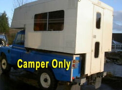 1985 Craftsman Made Small Pickup Camper Beutiful Wooded Interior
