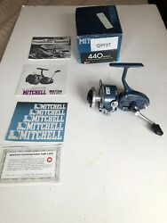 Vintage Mitchell Match 440a Spinning Reel New In Box Collector Quality