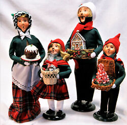 Byers Choice Christmas Sweets Family Carolers - 2021 Free Priority Shipping