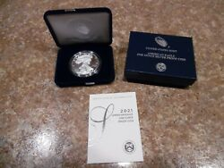 2021-w American Eagle One Ounce Silver Proof Type 1 Fast Free Shipping