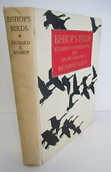 Bishop's Birds, Water-fowl And Upland Game Bird Etchings, 1936 Ltd Ed, 77/250
