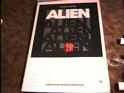 ALIEN ADV ROLLED 27X41 MOVIE POSTER RIDLEY SCOTT '79