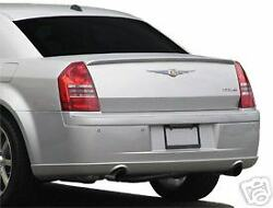Factory Style Rear Lip Spoiler Painted Fits 2005 - 2007 Chrysler 300 And 300c