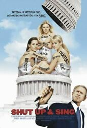 Shut Up And Sing 27x40 D/s Original Movie Poster One Sheet Dixie Chicks 2006
