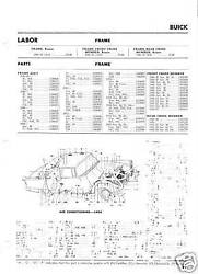 54 Buick Special Super Nos Air Conditioning Part Guide