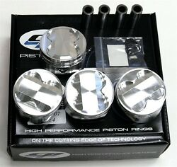 Cp Pistons For Honda Civic Del Sol Crx Si Sir Type-r B16a
