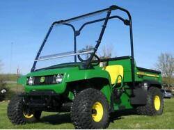 Hard Windshield For John Deere Ts Tx And Turf - Travels Highway Speed - Commercial