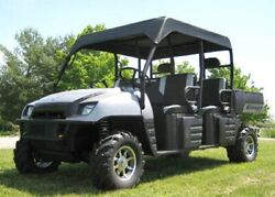 Roof For Polaris Ranger Crew - Soft Material - Withstands Highway Speeds