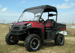 Hard Windshield And Canopy For 2010 Polaris Ranger 400