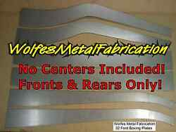 1932 Ford Frame Fronts And Rears Only 1/8 Easy Weld Boxing Plates 32 Chassis