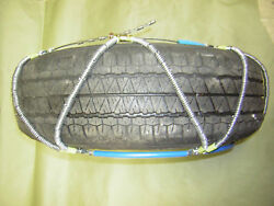 Scc Z-chain Radialtire Snow Chains 13141516 New Check Full Sizes Below