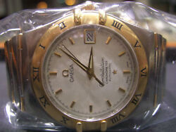 Constellation Menand039s Omega 18k Two-tone Automatic