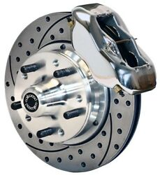 Wilwood Disc Brake Kitfront61-72 Cdp A-body W/9 Drums11 Drilledpolished Ca