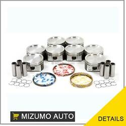 Pistons W/ Rings Power-improved @std Fit 97-15 Ford Lincoln 5.4l Sohc 16v
