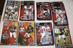 Nfl Chicago Bears Nfc North Fathead Tradeables Collectible Cards Wall Decal