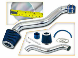 Short Ram Air Intake Kit +blue Filter For 98-02 Accord / 97-01 Prelude 2.2l 2.3l