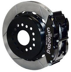 Wilwood Disc Brake Kit,rear Parking,small Ford,2.50 Off,13 Rotors,blk Calipers