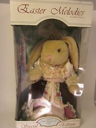 Anco Rabbit Bunny Doll Easter Melodies Plush Vtg Spring Adorable Jointed Mib 15
