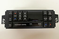 BUY REBUILT 98 99 BUICK AUTOMATIC AC HEATER DIGITAL CLIMATE CONTROL NO EXCHANGE