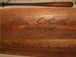 Billy Southworth Signature Model Hillerich And Bradesby Vintage Game Used Bat