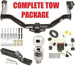 2008-2011 Mazda Tribute Complete Trailer Receiver Tow Hitch Package Fast Shipp