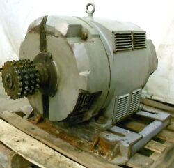 Reliance Motor 150hp 1760rpm 3ph 444tz Frame 460v 174a 60cy Double Shaft