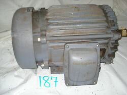 New Baldor Explosion Proof Motor M7056t 20hp 1725rpm 256t 230/460 09g96-108