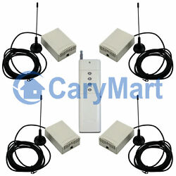4ch 2000m 10a Rf Remote Control Installation For Lighting Opener With Antenna