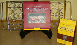 New William Sonoma Grill/bbq Set Grill Rack And Hickory Smoking Chips