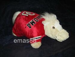 100% Original My Pillow Pets Large OU Sooner College Team 18X18. As Seen onTV