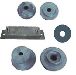5-pc Engine Mount Set For 1953-1955 Dodge And 1955 Plymouth V-8