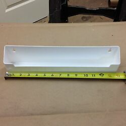 Knape And Vogt Psf14-w White Plastic Sink Front Tip Out Tray Single