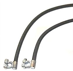 Oe-style Cloth Jacket Battery Cables For 1941-1947 Dodge - Plymouth Trucks