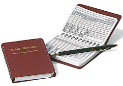 Flight Crew Logbook By Crewgear - Airline And Charter Pilot Trip And Expense Record